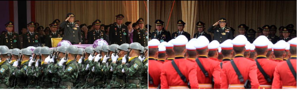 military celebration